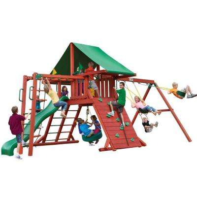 Sun Valley II Cedar Playset