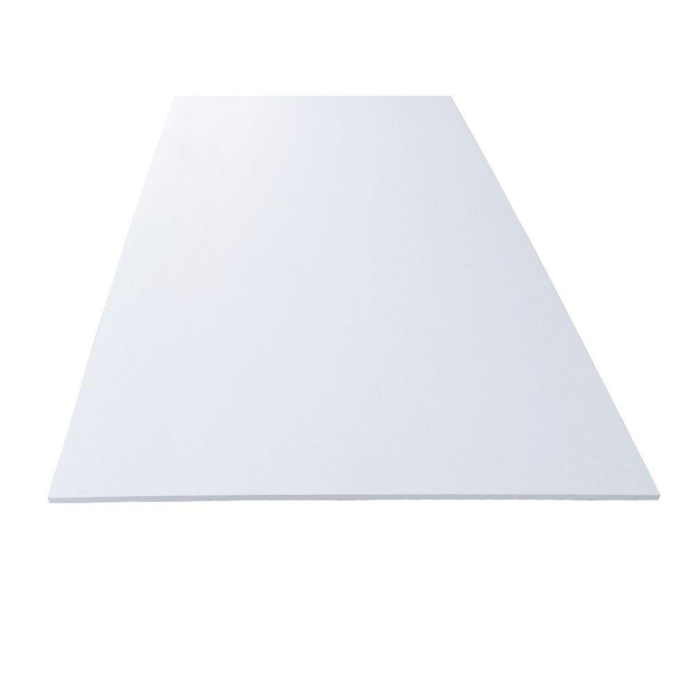 1 2 In X 48 In X 96 In White Pvc Sheet Panel 190360