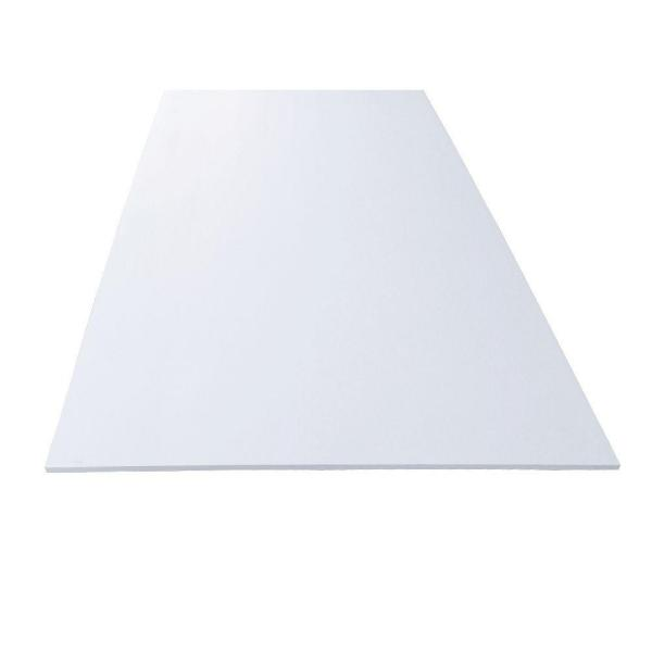 "Plate .750/"" x 12/"" x 24/"" Gray Color PVC Sheet Plastic Polyvinyl Chloride Panel"