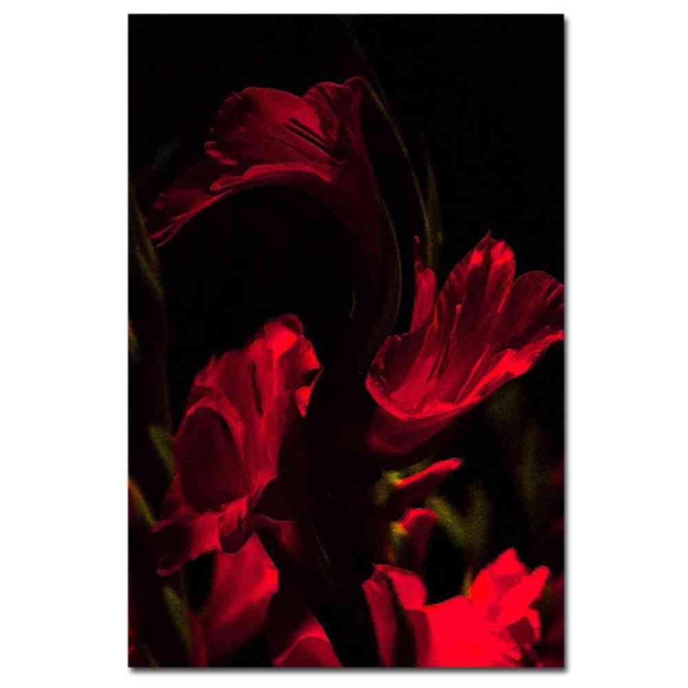 24 in. x 16 in. Gladiolus VI Canvas Art