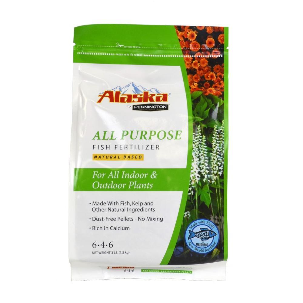 Alaska Pennington 3 lb. 6-4-6 All Purpose Dry Fertilizer