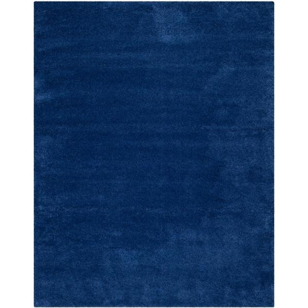 Milan Shag Navy 10 ft. x 14 ft. Area Rug