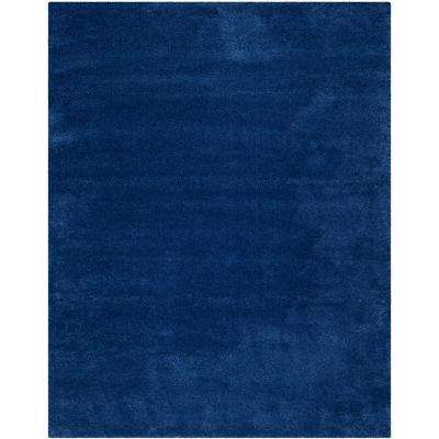 Milan Shag Navy 8 ft. x 10 ft. Area Rug