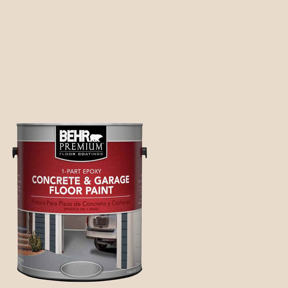 1 gal. #S240-1 Creme Fraich 1-Part Epoxy Concrete and Garage Floor Paint
