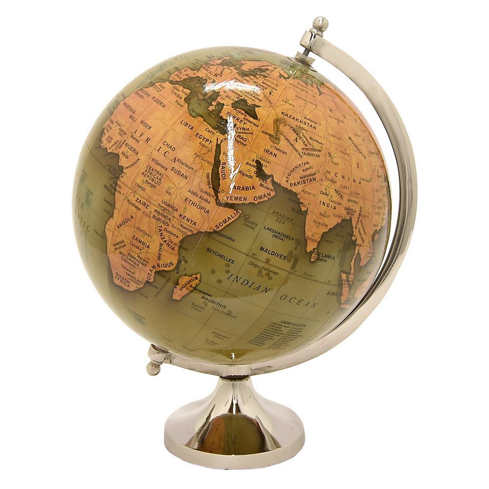 6 in. x 6 in. Globe 6 in. - Nickel Base in Green
