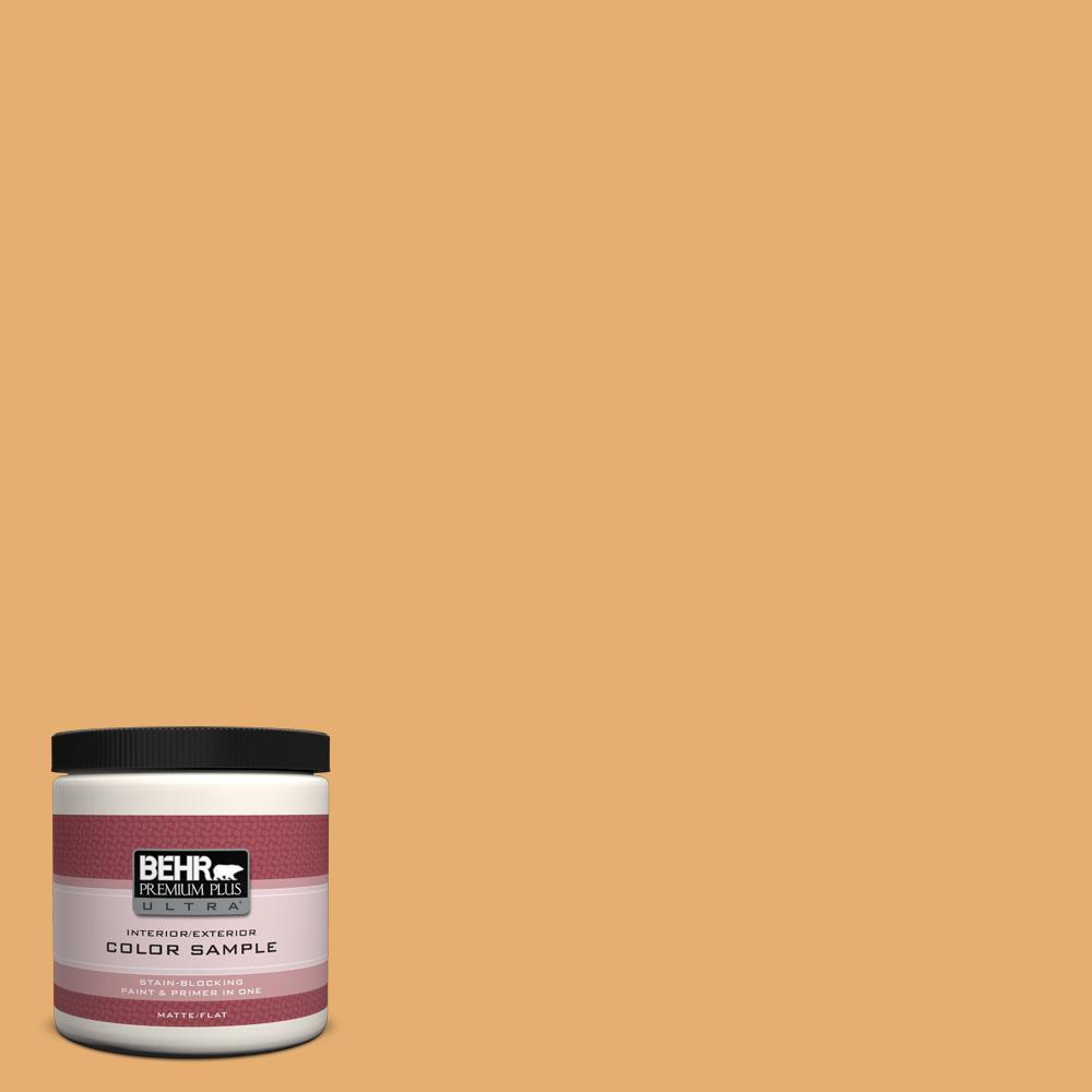 8 oz. #M260-5 Mac N Cheese Interior/Exterior Paint Sample
