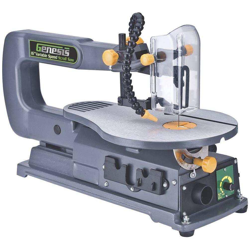 1.2-Amp 16 in. Variable Speed Scroll Saw