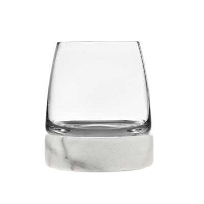 Stone Cold 15 oz. Stemless Crystal Glasses (Set of 2)