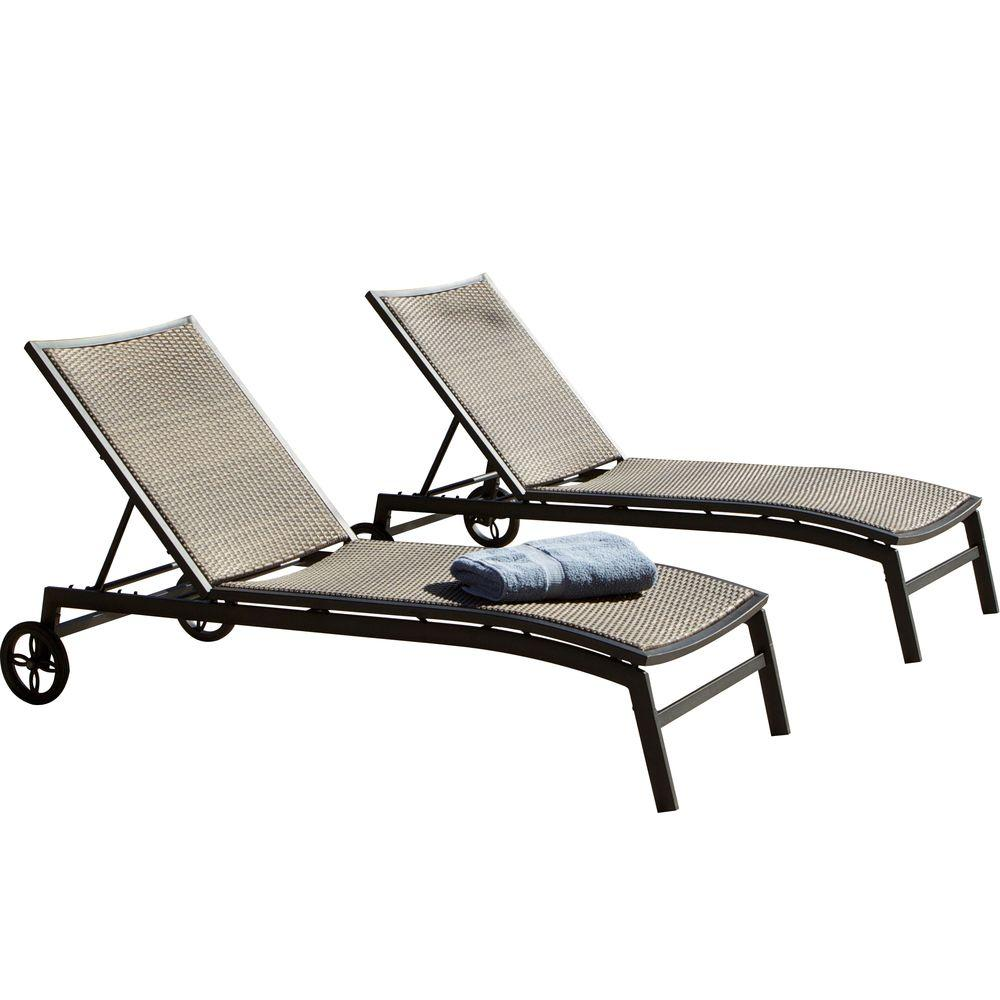 RST Brands Zen Patio Chaise Lounger (2-Pack)
