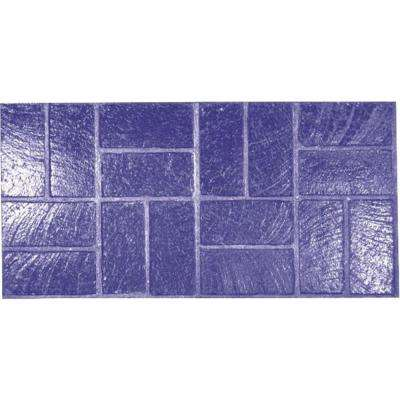 New Basket Weave Brick Concrete Stamp