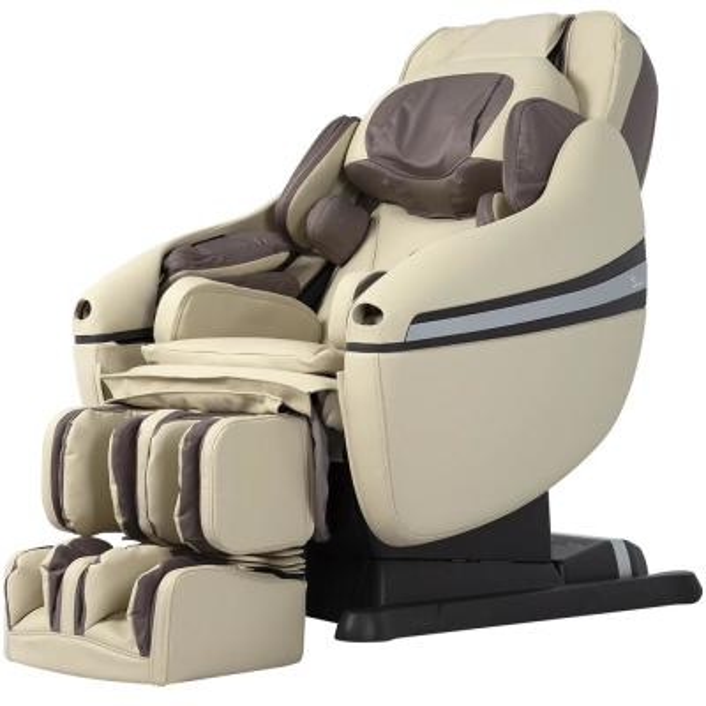 Inada Dreamwave Series Tan Reclining Massage Chair