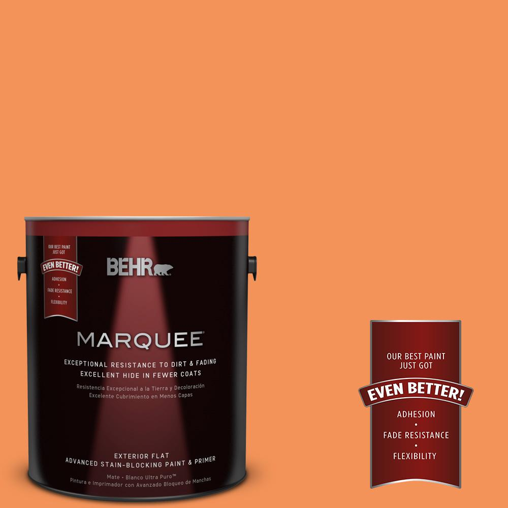BEHR MARQUEE 1-gal. #240B-5 Candied Yam Flat Exterior Paint