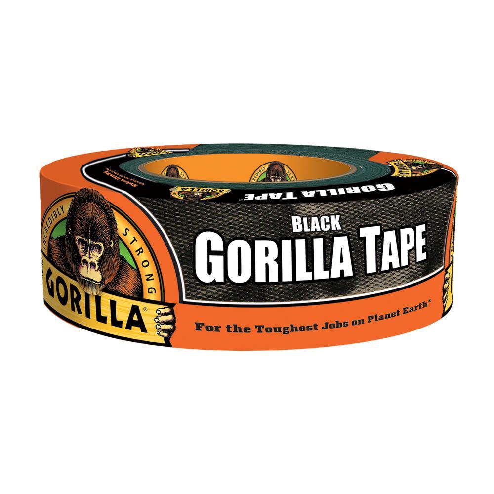 1.88 in. x 35 yd. Black Tape