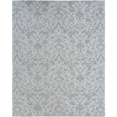 Jardin Hazy Platinum 6 ft. x 9 ft. Area Rug
