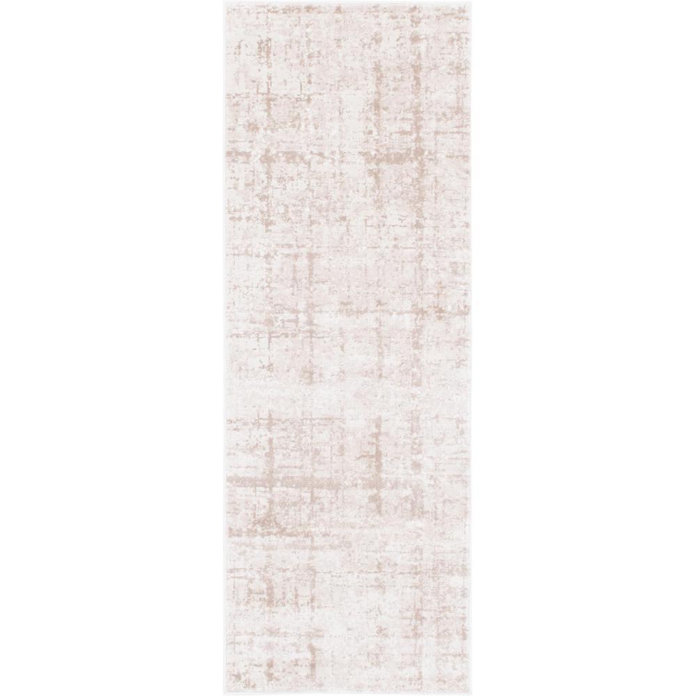 Uptown Collection by Jill Zarin™ Lexington Avenue Beige 2' 2 x 6' 0 Runner Rug