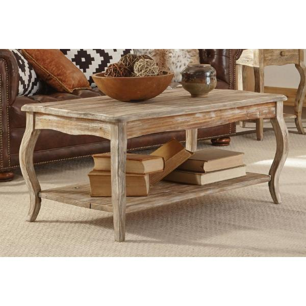 Alaterre Furniture Rustic Driftwood Coffee Table Arsa1125 The Home