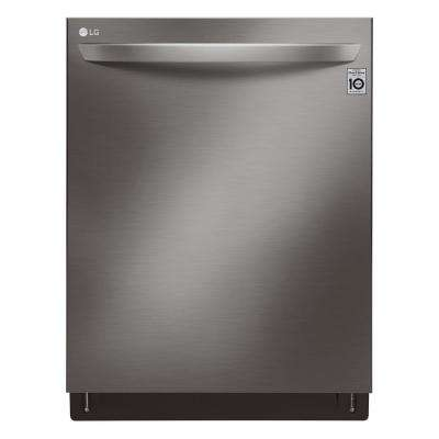 Top Control Tall Tub Smart Dishwasher w/ QuadWash, TrueSteam, 3rd Rack, Wi-Fi Enabled in Black Stainless Steel, 42 dBA