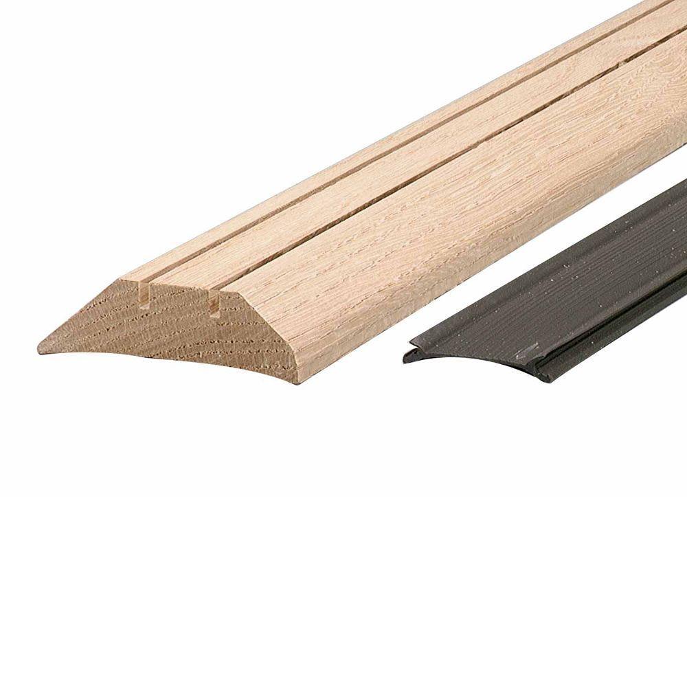 3-1/2 in. x 1-7/16 in. x 36 in. Hardwood High Threshold