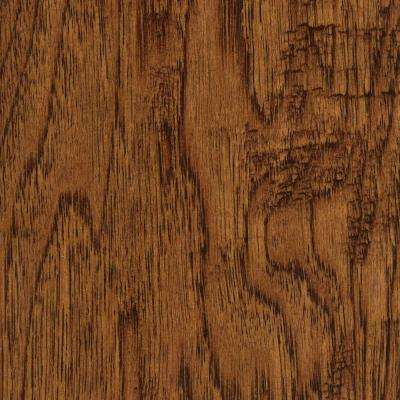Take Home Sample - Handscraped Distressed Palmero Hickory Click Hardwood Flooring - 5 in. x 7 in.