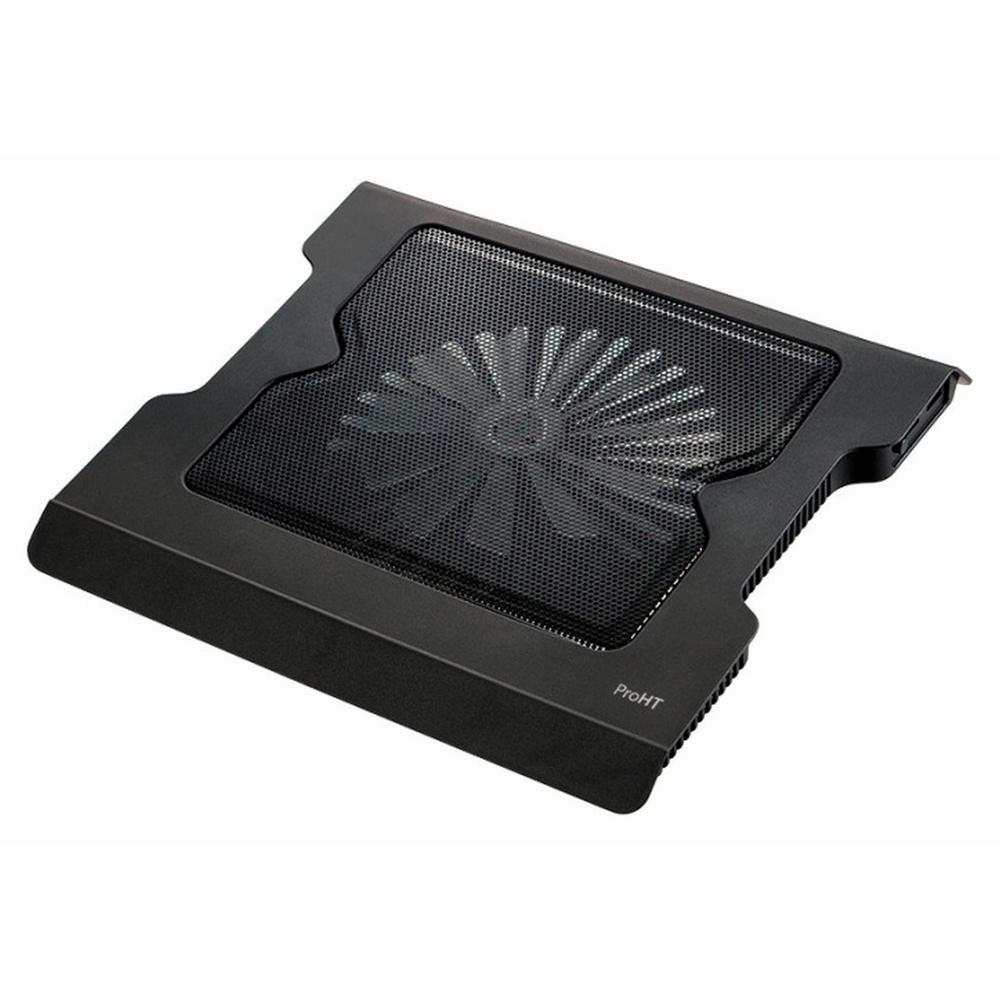 proHT 15.6 in. USB Notebook/Laptop Cooling Fan Stand, Black