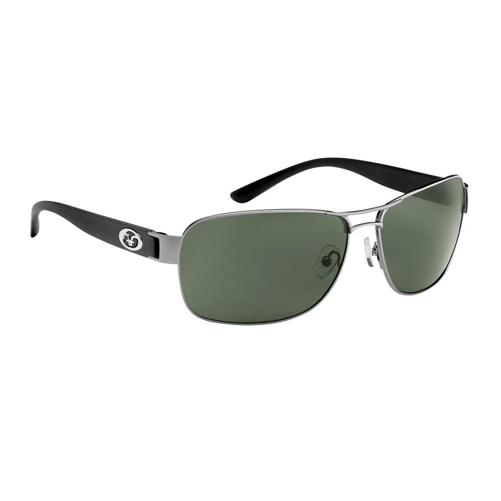 10e23dacc9 Flying Fisherman. Carysfort Polarized Sunglasses Gunmetal Black Frame with  Smoke Lens
