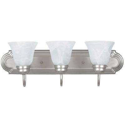 O'Meara 3-Light Polished Chrome Bath Vanity Light