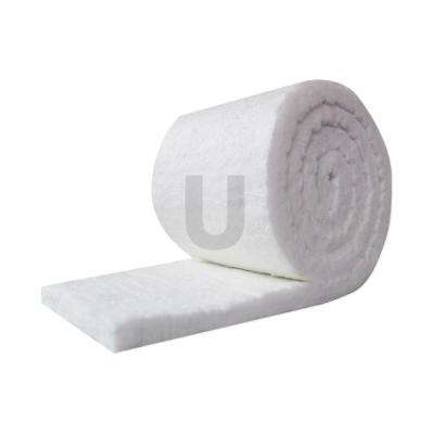 Ceramic Fiber Insulation Blanket Roll, (8# Density, 2300°F)  (1in x24in x25ft )for Kilns, Ovens, Furnaces, Forges, Stoves