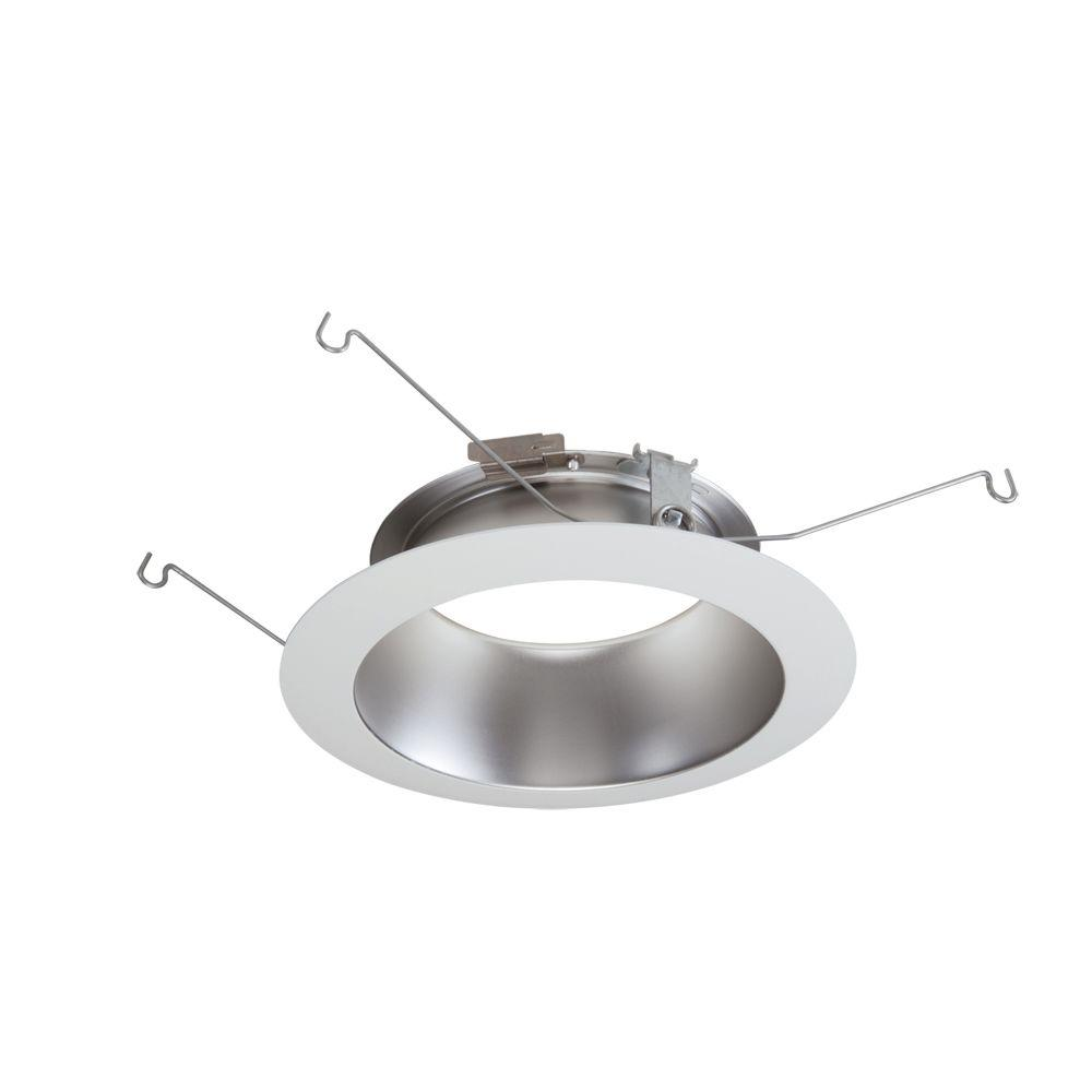 Halo 5000 series 5 in white recessed ceiling light trim with open haze reflector led recessed ceiling light white flange mozeypictures Choice Image