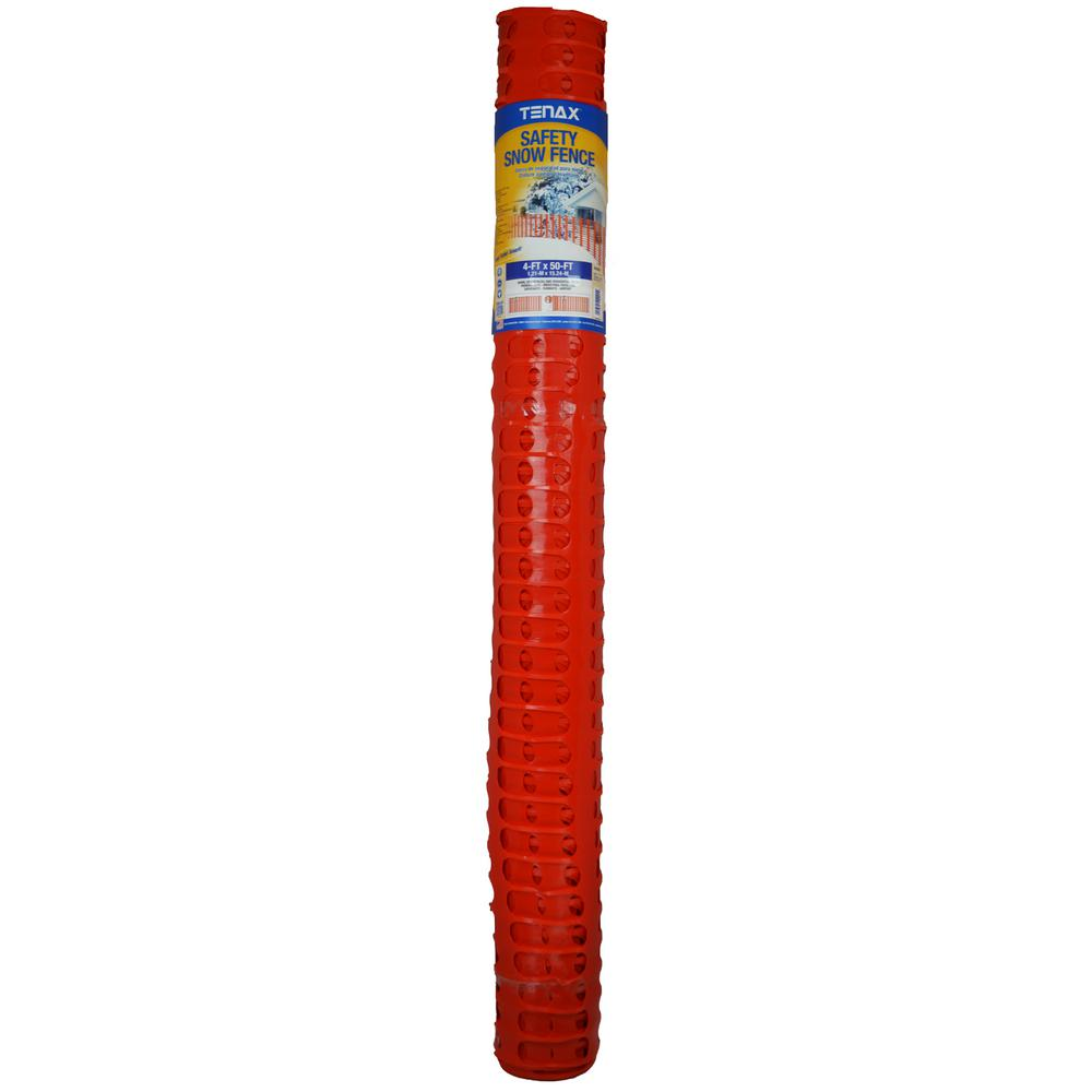 4 ft. x 50 ft. Saf-T-Sno Heavy Duty Snow Fence