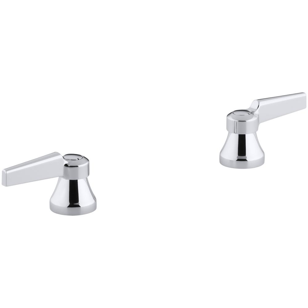 KOHLER Triton Lever Handles in Polished Chrome (2-Pack)-K-16010-4 ...