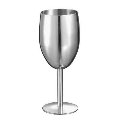 8 oz. Jacqueline Stainless Steel Champagne Glass