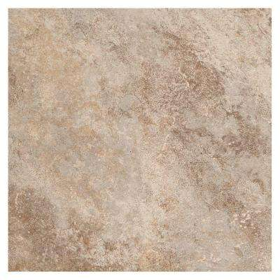 Grand Cayman Oyster 18 in. x 18 in. Porcelain Floor and Wall Tile (18 sq. ft. / case)