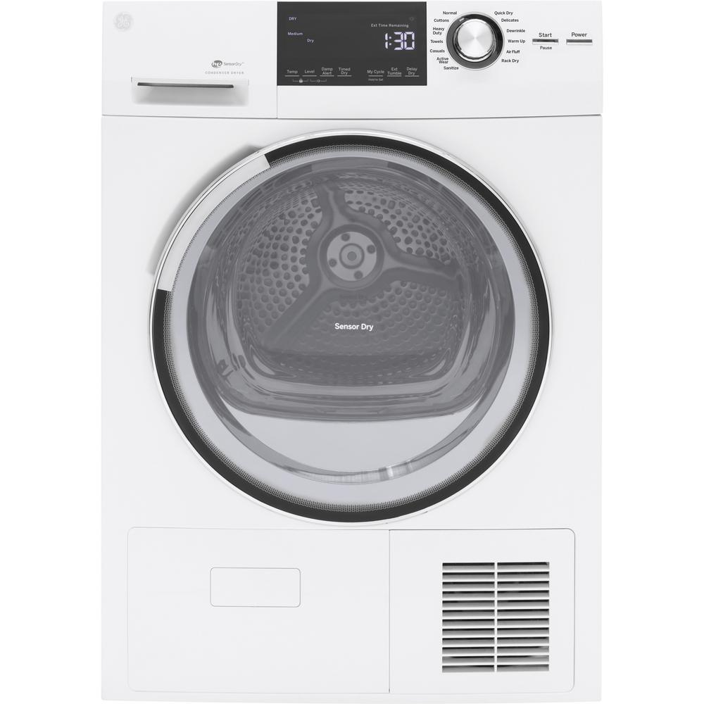GE 4.0 cu. ft. High Efficiency Electric Dryer with Ventle...