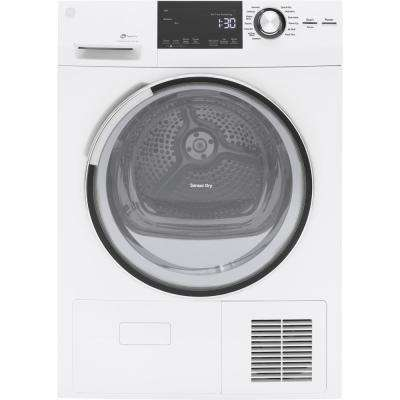 4.0 cu. ft. High Efficiency Electric Dryer with Ventless Condenser in White