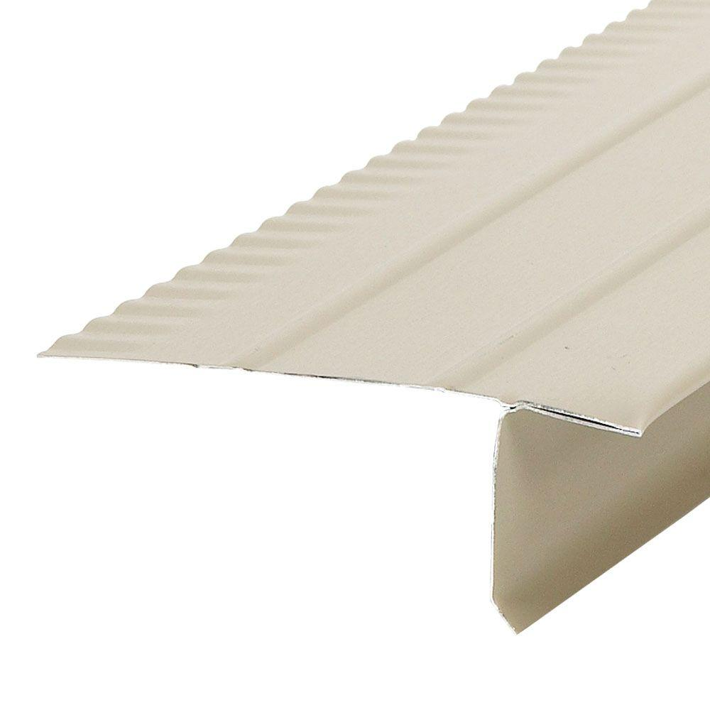 Amerimax Home Products F4 1 2 In Clay Aluminum Drip Edge