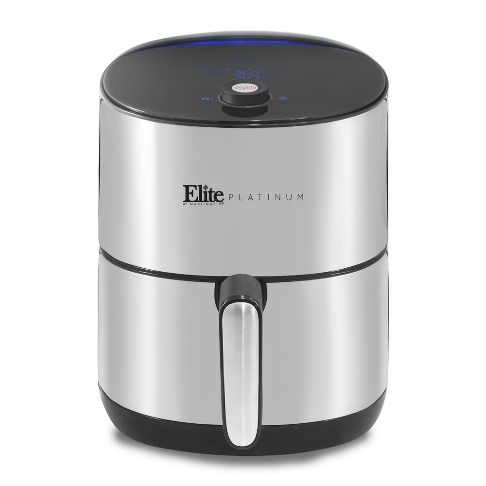 4.5 Qt. Stainless Steel Digital Air Fryer