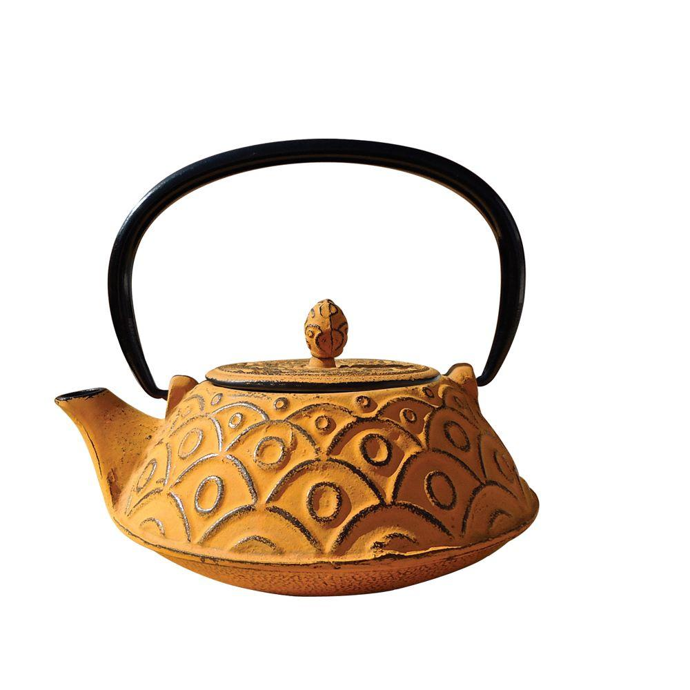 Kyoto 3.25-Cup Teapot in Tangerine