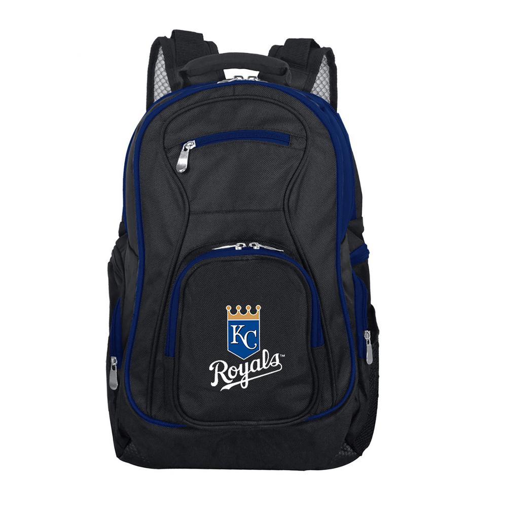 Denco MLB Kansas City Royals 19 in. Black Trim Color Laptop