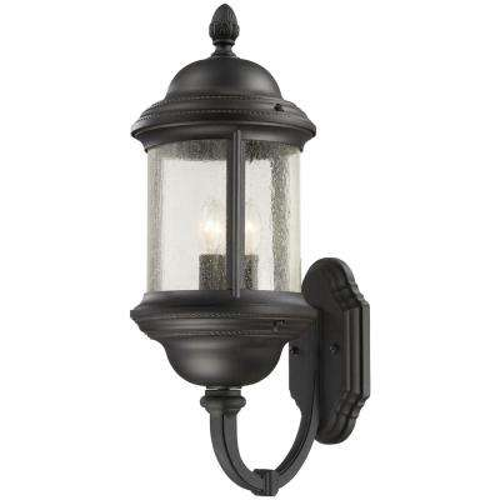 Hancock 3-Light Black Outdoor Wall Mount Lantern