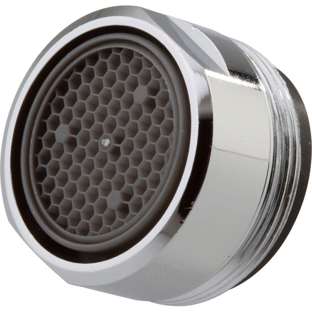 Delta 2 2 Gpm Aerator With 15 16 In 27 Male Thread In Chrome Rp32529 The Home Depot