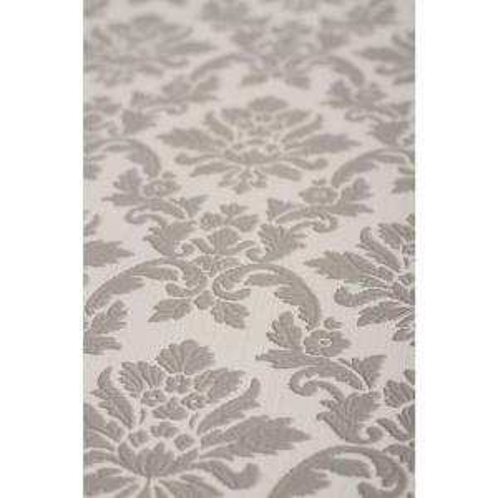Damask Gray Wallpaper Sample