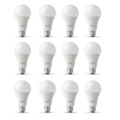 100-Watt Equivalent A21 CEC Title 24 Compliant LED ENERGY STAR 90+ CRI Light Bulb, Bright White (12-Pack)