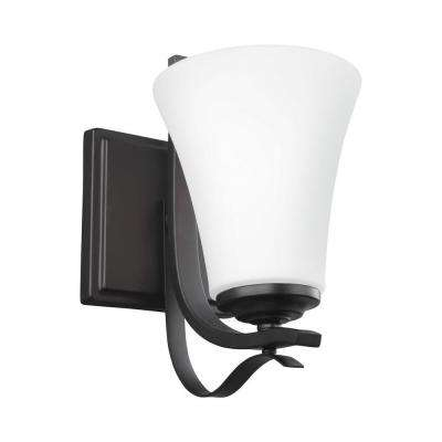 Summerdale 1-Light Oil Rubbed Bronze Wall Sconce