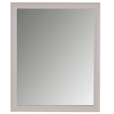 31 in. W x 26 in. H Wall Mirror in Cream
