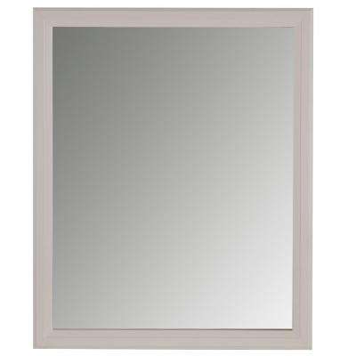 31 in. x 26 in. Wall Mirror in Cream