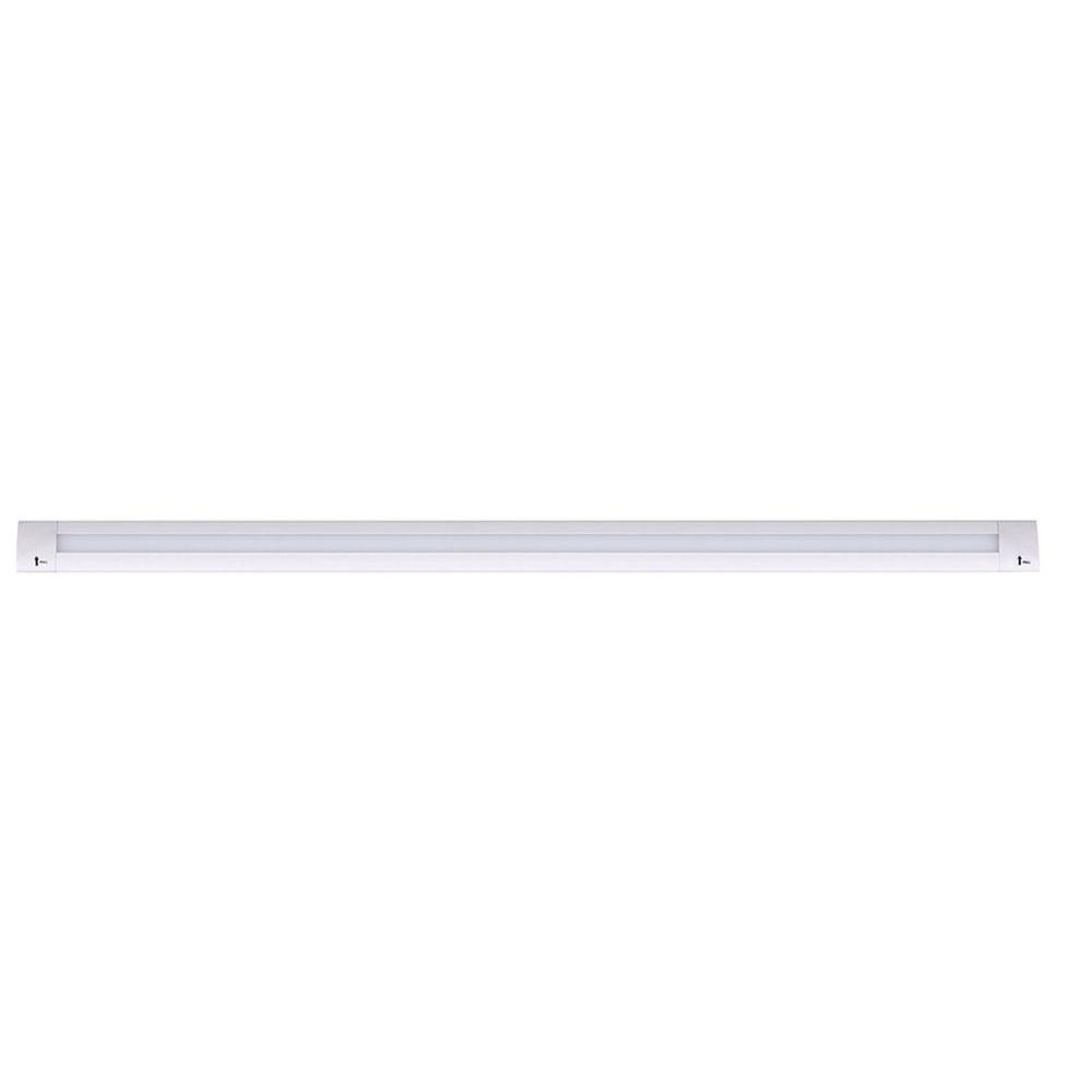 Commercial Electric 9 In Led White Direct Wire Under Cabinet Light Wiring New Closet Linear