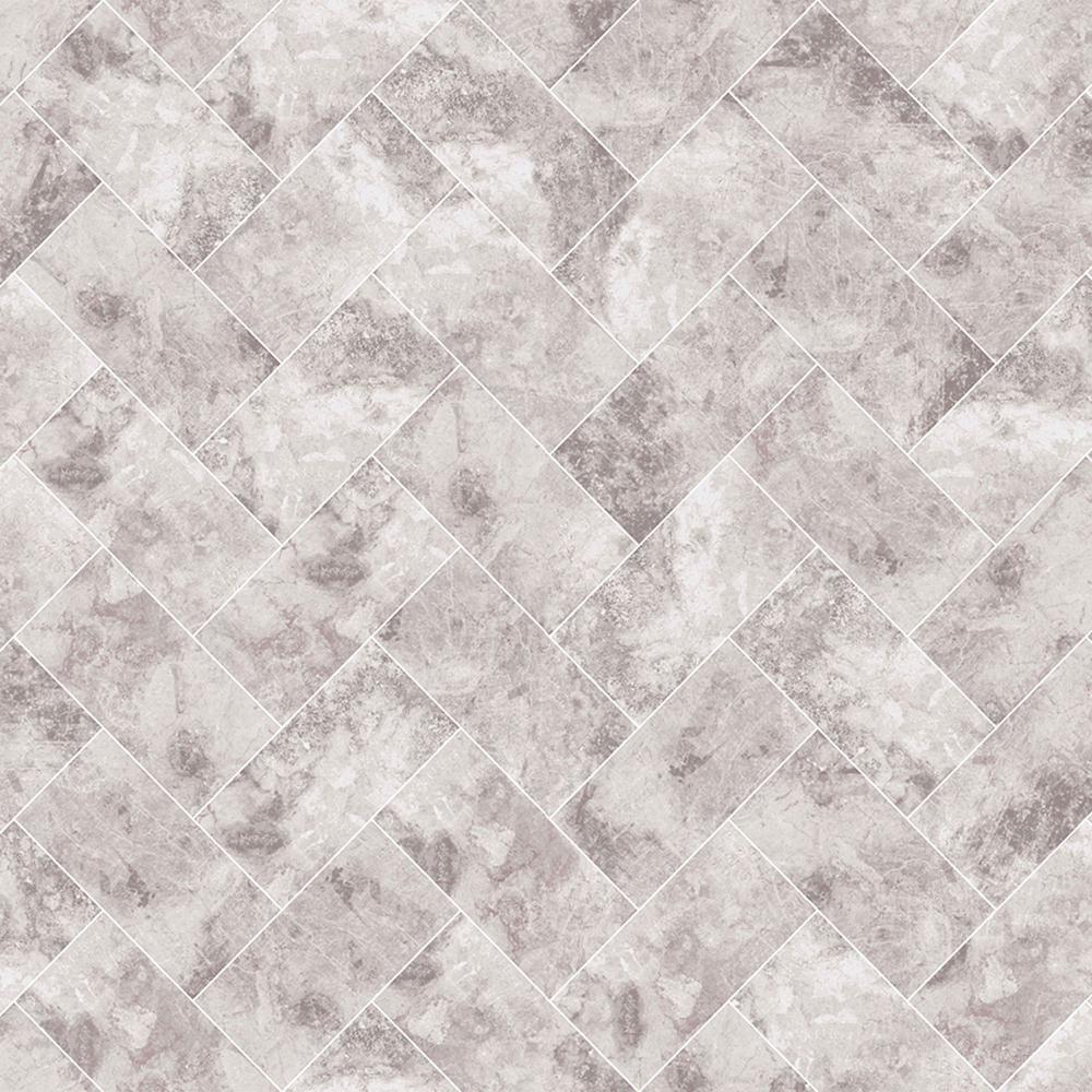 Travertino Taupe Removable Wallpaper Sample