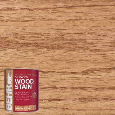 1 qt. #TIS-522 Golden Pecan Transparent Oil-Based Advanced Formula Interior Wood Stain