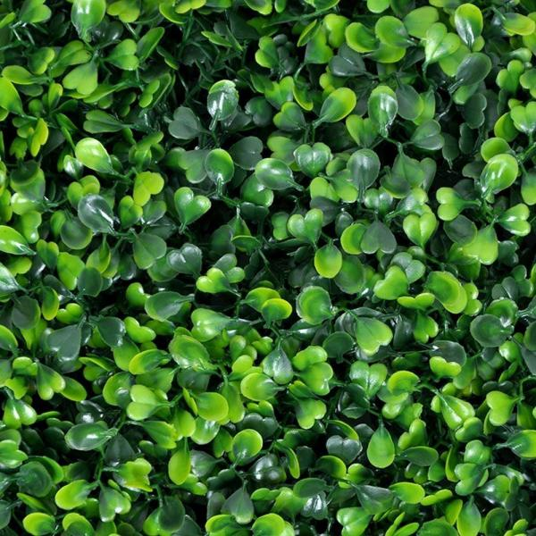 Ejoy - GorgeousHome Artificial Boxwood Hedge Greenery Panels Milan 20 in. x 20 in. (6-Piece)
