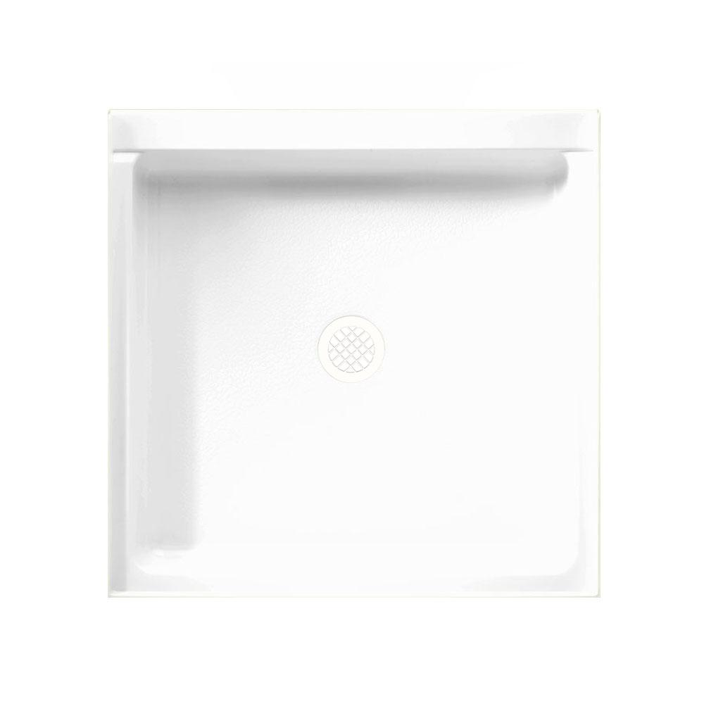 Swan 32 in. x 32 in. Solid Surface Single Threshold Showe...